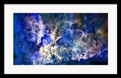 Carinae Nebula Framed Prints