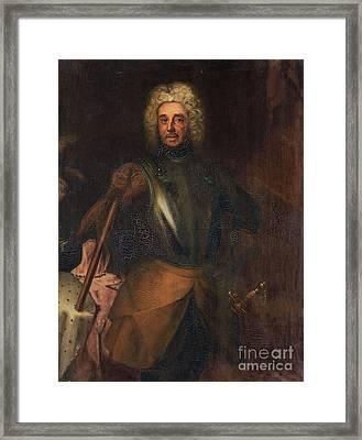 Carl Gustaf Morner Af Morlanda Framed Print by Celestial Images