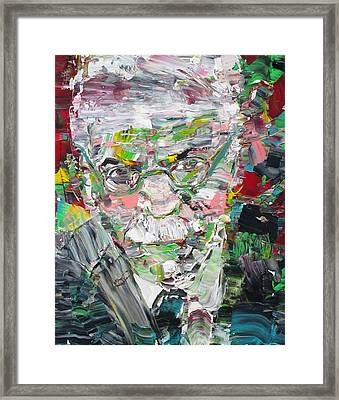 Carl Jung  Portrait Framed Print