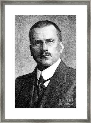 Carl Jung, Psychoanalyst Framed Print