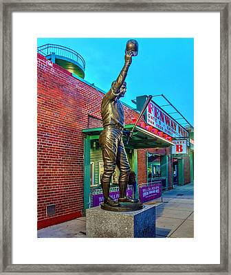 Carl Yastrzemski 005 Framed Print by Jeff Stallard