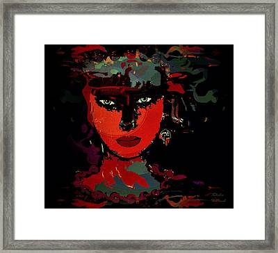 Carla Framed Print by Natalie Holland