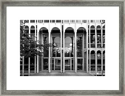 Carleton College Olin Hall Framed Print by University Icons