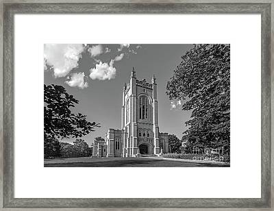 Carleton College Skinner Memorial Chapel Framed Print by University Icons