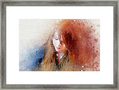 Carley Framed Print