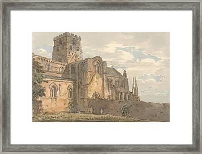 Carlisle Cathedral, Cumberland, From The South-west  Framed Print