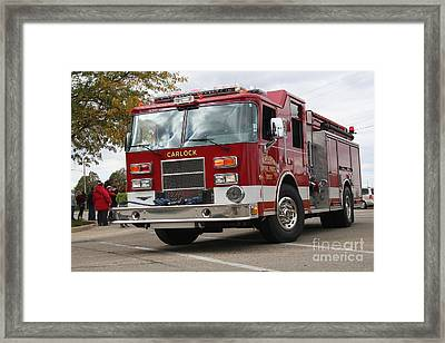 Carlock Fpd Framed Print by Roger Look