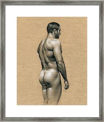 Carlos Framed Print by Chris Lopez
