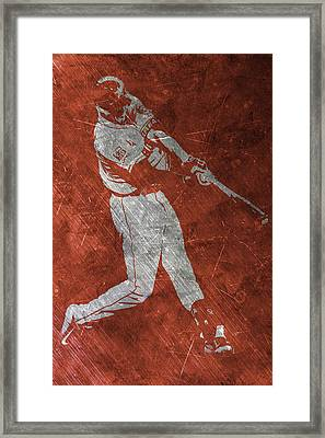 Carlos Correa Houston Astros Art Framed Print
