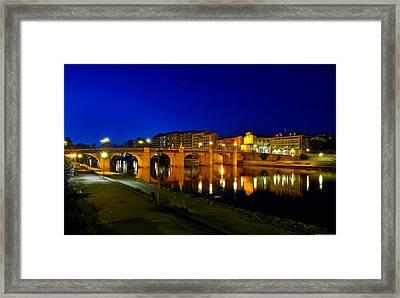 Carlos IIi Bridge Framed Print by Diosdado Molina