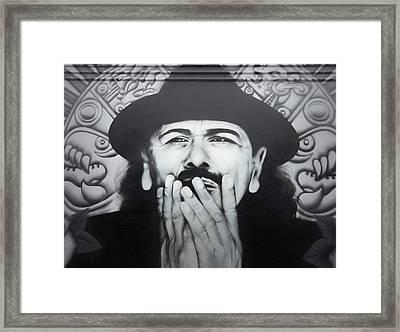 Carlos Framed Print