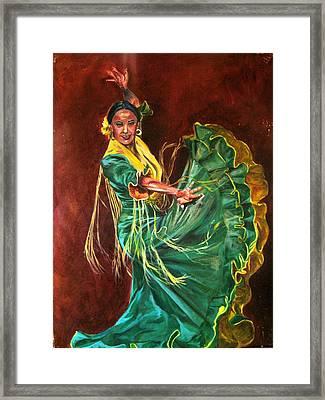 Carlota Framed Print