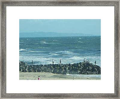 Carlsbad Framed Print by Sacred  Muse