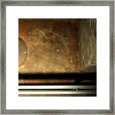 Carlton 13 - Abstract From The Bridge Framed Print
