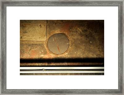 Carlton 15 - Square Circle Framed Print