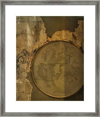 Carlton 3 - Abstract Concrete Framed Print