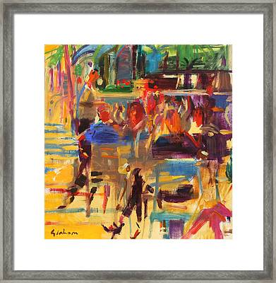Carlton Croisette  Cannes  Framed Print by Peter Graham