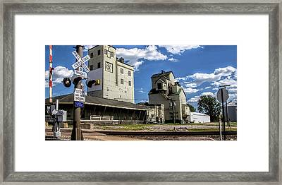 Carlton Michigan Feed Mill Framed Print by Pat Cook