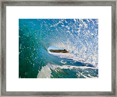 Framed Print featuring the photograph Carmel Blues by Paul Topp