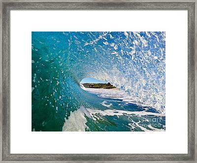 Carmel Blues Framed Print by Paul Topp