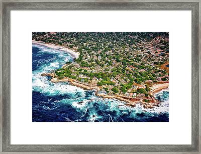 Carmel By The Sea Framed Print by Chris Leipelt