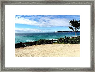 Carmel By The Sea Framed Print