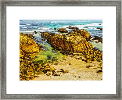 Carmel California - 07 Framed Print