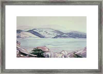 Carmel, California Framed Print