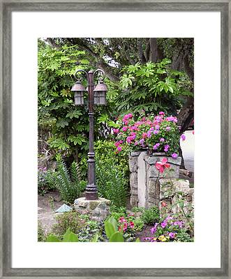 Framed Print featuring the photograph Carmel Color by Gordon Beck