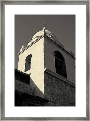 Carmel Mission I Toned Framed Print