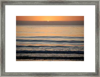 Carmel Sunset Framed Print