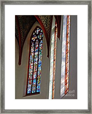 Carmelite Convent Church Mainz Framed Print by Sarah Loft