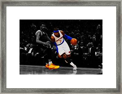 Carmelo Anthony Framed Print