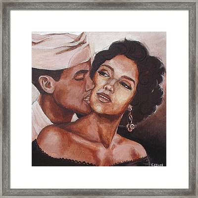 Carmen And Joe Framed Print