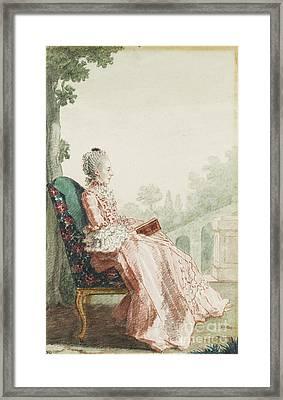 Carmontelle La Marquise De Pons Framed Print by MotionAge Designs
