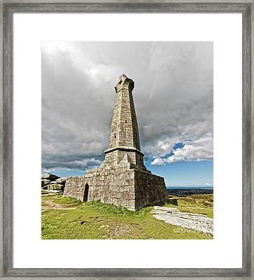 Carn Brea Monument Cornwall Framed Print