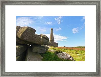 Carn Brea Rocks Framed Print