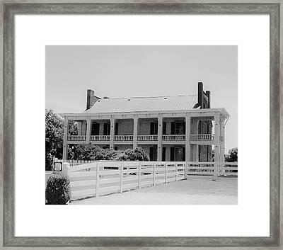 Carnation Estate In Franklin Framed Print