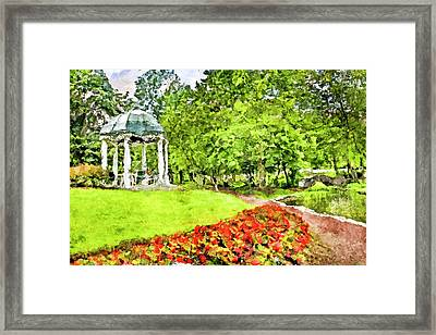 Carnegie Center In Princeton New Jersey Framed Print by Geraldine Scull