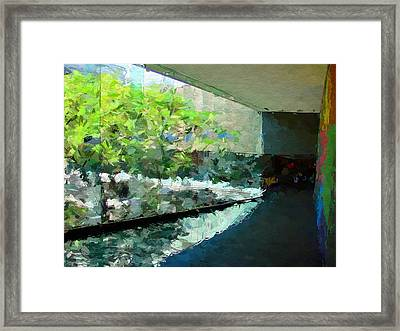 Carnegie Museum Of Art Framed Print by Iguanna Espinosa