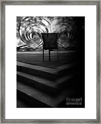 Carnegiechair Framed Print by Mary Kobet