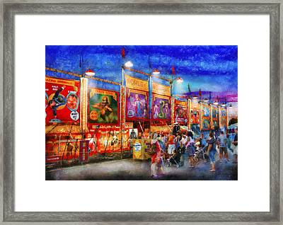 Carnival - World Of Wonders Framed Print