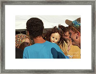 Framed Print featuring the photograph Carnival Adoption by Joe Jake Pratt