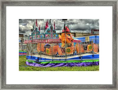 Carnival At Crocker Park Framed Print by Neil Doren