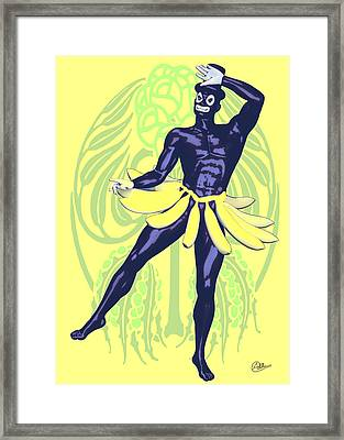 Carnival Carioca Framed Print by Quim Abella