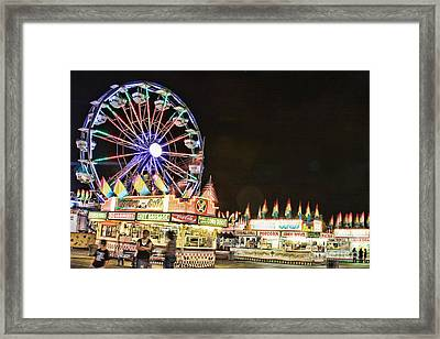 carnival Fun and Food Framed Print by James BO  Insogna