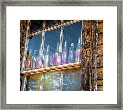Carnival Glass Framed Print