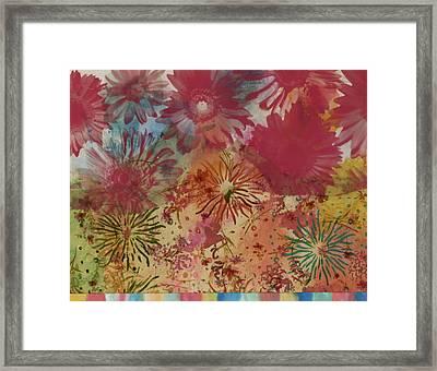 Carnival Framed Print by Gloria Von Sperling