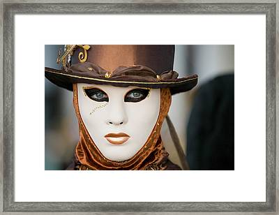 Framed Print featuring the photograph Carnival In Brown by Stefan Nielsen