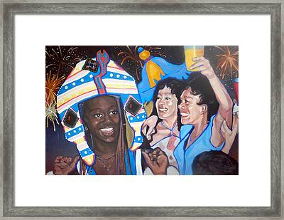 Carnival Framed Print by Jeanne Russell